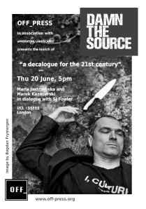 DTS poster 20th June